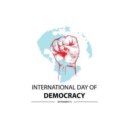 International Day of Democracy. September 15. Reklamní fotografie - 128566964