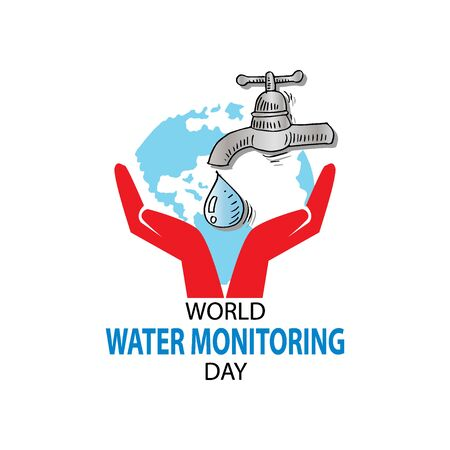 World Water Monitoring Day Concept