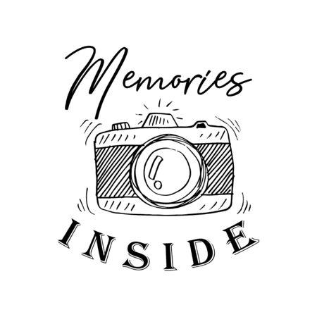 Recuerdos en el interior. Cita de letras manuscritas inspiradoras y motivacionales