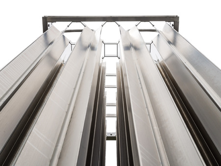 gas supply: Stainless Seel Evaporator in outdoor  gas supply system