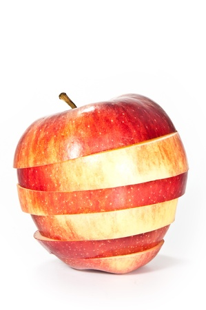 Sliced apple photo