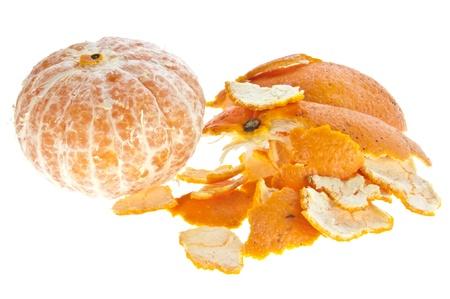 mandarine: Peeled mandarine