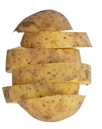 spud: Chopped potatoe