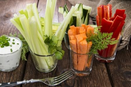 zucchini vegetable: Crudites stripes (fresh diet food) Stock Photo