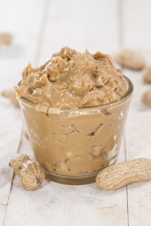 peanut butter and jelly: Fresh made creamy Peanut Butter