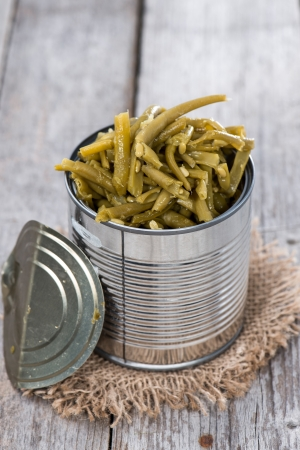 gr�ne bohnen: Portion of cooked Green Beans