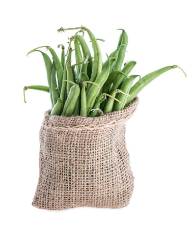 Green Beans (isolated on white) photo