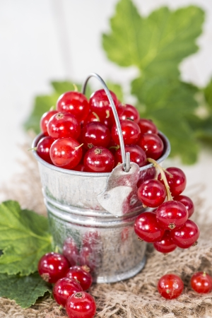 red currants: Portion of Red Currants