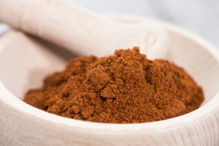 Chilli Powder (studio macro shot)