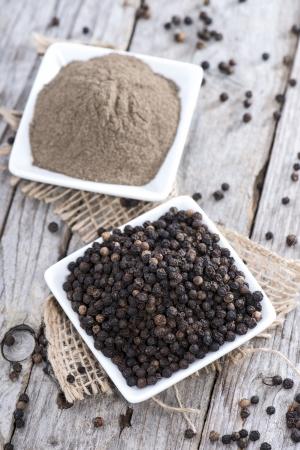 Fresh Black Pepper (macro shot)