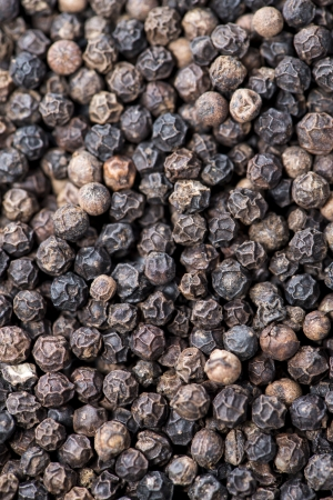 Black Pepper (detailed macro shot) photo