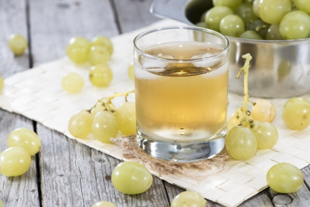and grape juice: Fresh Grape Juice with Ice in a glass