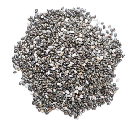 Small portion of Chia Seeds Фото со стока - 25721339