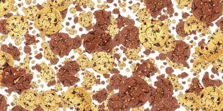 Cookie auf weißem Hintergrund isoliert Standard-Bild - 26771083