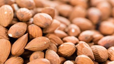 Heap of Almonds for use as Background Image or as Texture