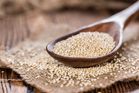 Portion of uncooked Quinoa