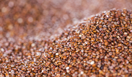 red quinoa: Portion of red Quinoa (detailed close-up shot) for use as background image or as texture