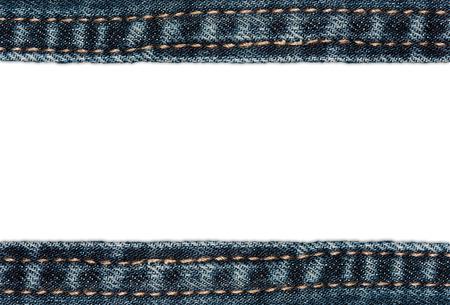 denim background: Denim Background (close-up shot) with copyspace Stock Photo