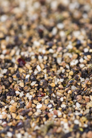 peppercorns: Crushed Peppercorns for use as background image or as texture (detailed close-up shot)