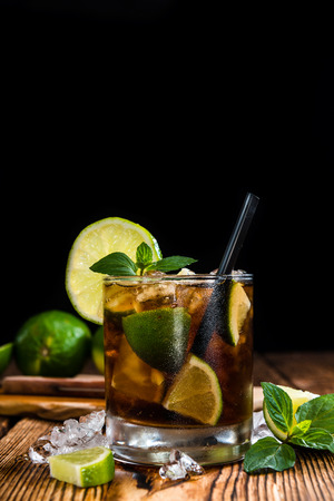 lime: Fresh made Cuba Libre with brown rum and tasty lime