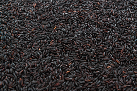 Portion of Black Rice (for use as background image or as texture)