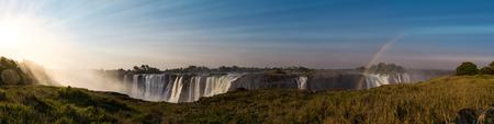 Victoria Falls (also called Mosi-oa-Tunya) near Livingstone in Zimbabwe