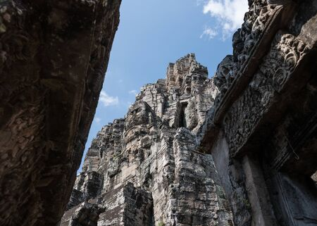 Bayon temple complex in the Ankor Wat area (Cambodia)