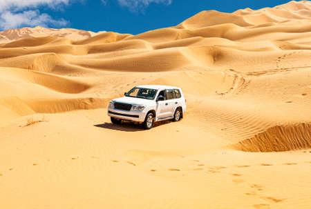 Offroad  safari in the beautiful Omani Rub al-Chali Desert