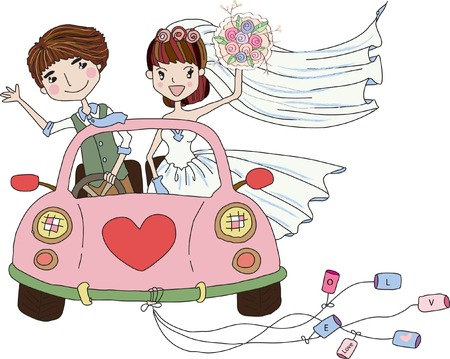 bridesmaid: Wedding Bride, bridesmaid  clipart