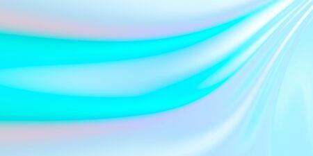 Iridescent, pastel color beauty light background, simple wallpaper, 3D rendering, 3D illustration