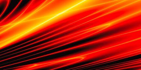 Autumn color abstract geometric modern trendy wallpaper, 3D rendering, 3D illustration Stock fotó