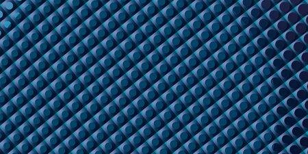 Futuristic dark blue texture wallpaper, modern contemporary presentation cover design, beauty volumetric industrial, business background, 3D illustration, 3D rendering 写真素材