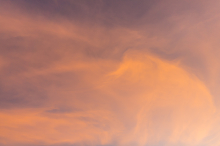 Cirrus Clouds Background Dusk Time