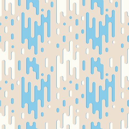 Abstract liquid water seammless pattern vector raindorp minimal background