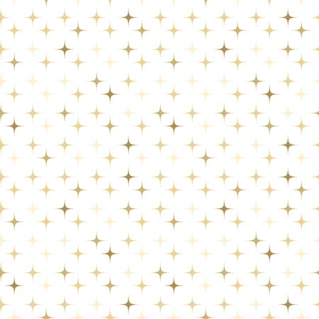Gold star sparkle seamless pattern on white background stardust wallpaper