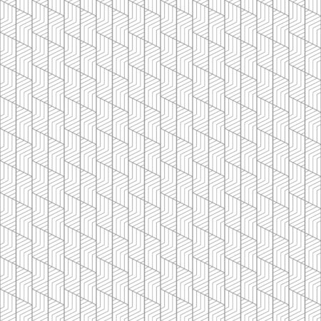 Geometric lines seamless pattern abstract texture with diagonal and stripes lines vector minimal monochrome background