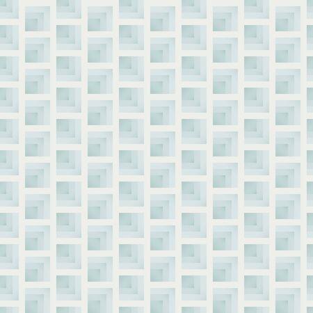 Abstract geometric checkered seamless pattern vector green block background Иллюстрация