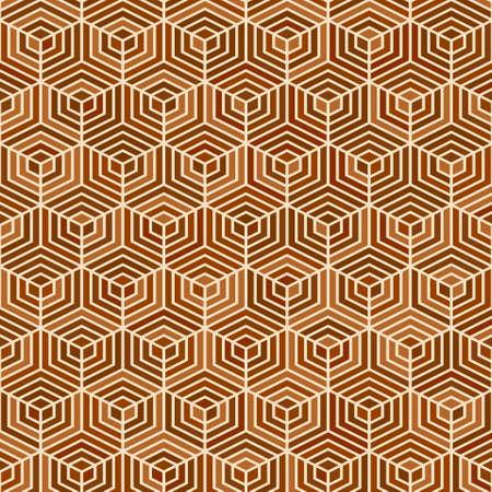 Hexagon seamless pattern parquet texture background Illusztráció