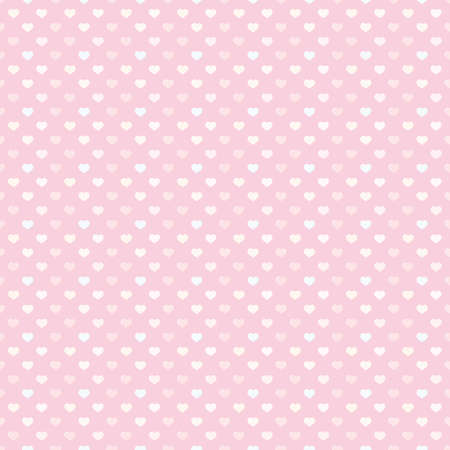 Colorful tiny hearts shape seamless pattern 向量圖像