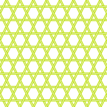 Bamboo fence seamless pattern green mesh background