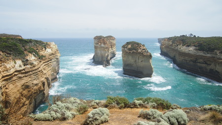 Great Ocean Road landscape, Melbourne, Australia Stock Photo