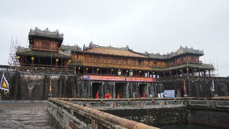 Ancient Hue's palace, Vietnam Editorial