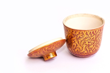 Hot tea cup Stock Photo