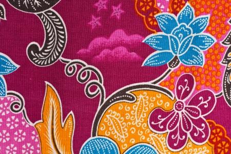 Paint Lai Thai on Fabric