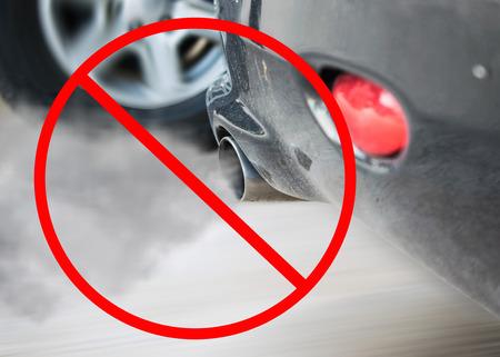 smoke car pipe exhaust