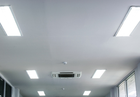 white office ceiling