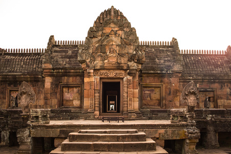 sandstone castle, phanom rung in Buriram province, Thailand. Stock Photo