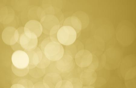 bokeh light on golden background