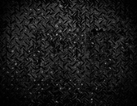 Black and white Texture of metal drain cap