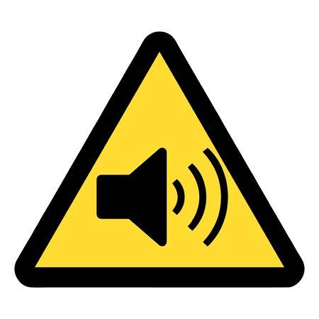 Sound Warning sign